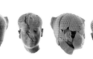 La escultura de piedra fue hallada en Israel, y los arqueólogos aseguran que corresponde a un hecho descrito en el libro bíblico de Josué. Foto: Twitter