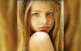 Thylane Blondeau, que ya ha cumplido 16 años, lució su belleza en las pasarelas durante la Semana de la Moda de Nueva York. Foto: Internet
