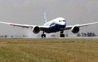 La señora, de 76 años, estaba subiendo al avión cuando tiró las monedas. Foto: Internet