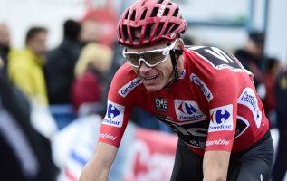 """""""Mi asma se agravó durante la Vuelta, así que seguí los consejos del médico del equipo para aumentar mis dosis de salbutamol"""", dijo el corredor. Foto: AFP"""