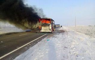 El accidente tuvo lugar hacia las 10h30 locales (05h30 GMT) en la región de Aktobe, la principal ciudad del noroeste de Kazajistán. Foto: AFP