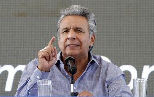 Moreno se referirá a tres temas: desarrollo social, política y economía. Foto: Presidencia