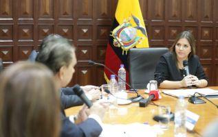 La segunda mandataria argumentó que la consulta es legítima y que no se ha saltado ningún procedimiento. Foto: Vicepresidencia