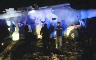 Sismo en México: ministro sobrevivió a caída de helicóptero que dejó dos muertos. Foto: Redes