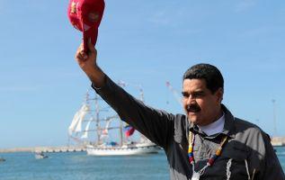 """Maduro aseguró en Caracas: """"Llueva, truene o relampaguee, por aire, tierra o mar llegaré a la Cumbre de las Américas. Foto: Reuters"""