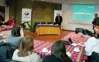 Este encuentro es liderado por el Ministerio de Ambiente (MAE) y el Programa de las Naciones Unidas para el Desarrollo (PNUD).