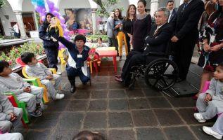 """""""Con la 'Misión Ternura' daremos atención en los primeros mil días de vida, donde se forma el ser humano"""", dijo Moreno. Foto: Presidencia"""