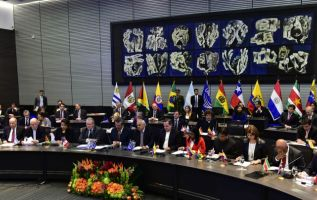 Ecuador apeló al diálogo y la unidad en el seno de la Unión de Naciones Suramericanas (Unasur), después de que seis países anunciaran ayer que dejaban de participar. Foto: AFP - Archivo