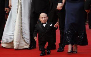 Muere Verne Troyer, popular por su papel como 'Mini-me' en Austin Powers. Foto: AFP