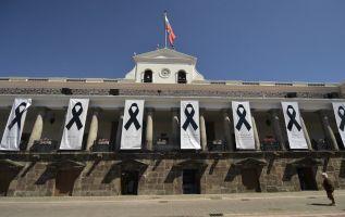 Esta es una semana decisiva para el Gobierno porque corre el plazo que el presidente Lenín Moreno dio a sus ministros del frente de seguridad. Foto: AFP
