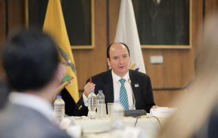 El audio de una conversación entre el entonces presidente de la Asamblea, José Serrano, y el excontralor general del Estado, Carlos Pólit, dio inicio al escándalo político. Foto: archivo