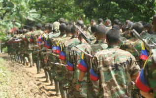 Estos grupos se dedican al narcotráfico y la minería ilegal. Foto: Colprensa