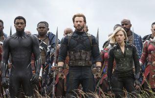 """""""Es la mayor colección de superhéroes jamás reunida en un filme"""", indicó Kevin Feige, presidente de los estudios Marvel."""