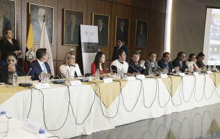 La Comisión de Fiscalización resolverá el procedimiento para establecer la responsabilidad particular de cada uno de los nueve miembros. Foto: Asamblea