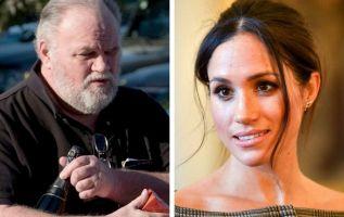 Markle explicó que su hija lloró cuando le comunicó que no iría a su boda. Foto: AFP