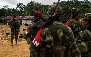 """Según la guerrilla, """"un proceso de paz no está sometido a imposiciones unilaterales. Foto: AFP"""