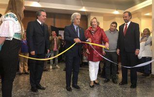 Ecuador participó como país invitado de honor en la FIL de Montevideo. Foto: Twitter.
