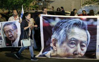 Fujimori acumula 12 años en prisión como parte de una condena de 25 años por la muerte de 25 personas en 1991 y 1992. Foto: AFP