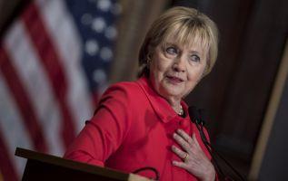"""""""Hubo una investigación y todo resultó, como creo, en el lugar correcto"""", agregó Clinton. Foto: AFP"""