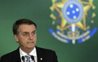 Bolsonaro propone blindar jurídicamente a los policías en ejercicio de su actividad. Foto: AFP