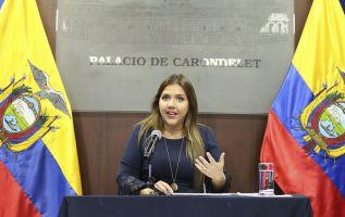 QUITO, Ecuador.- Vicuña dimitió para evitar, según dijo, una mayor inestabilidad en el Gobierno. Foto: Flickr Vicepresidencia.
