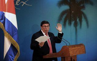 El canciller cubano, Bruno Rodríguez. | AFP