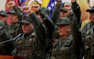 """Maduro llama a militares a """"desplegarse"""" ante amenazas de Trump. Foto: Archivo"""