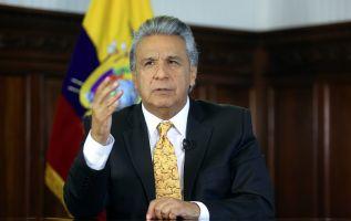 El presidente atribuye las dificultades a un excesivo endeudamiento y un mal manejo de las finanzas en el gobierno de Correa. Foto: Flickr Presidencia