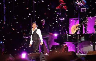 Luis Miguel se presentó en Bogotá el sábado 16 de marzo de 2019. Foto: Instagram Luis Miguel.