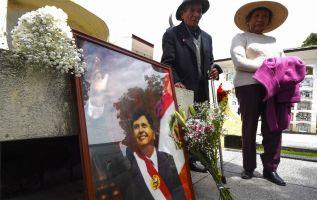 Los restos de Alan García fueran cremados este viernes en un cementerio de Lima, en una ceremonia privada. Foto: AFP.