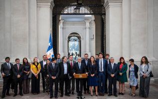 El presidente chileno Sebastián Piñera fue el anfitrión para la creación de Prosur.