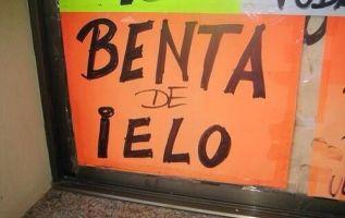 """A la """"casa de orrores"""" ortográficos en las calles de Ecuador. Foto: Referencial"""