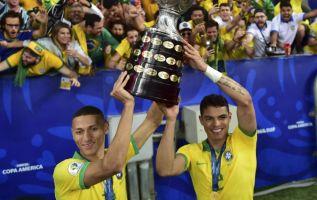 Brasil es campeón por novena ocasión. Foto: AFP.