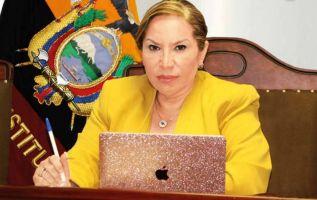 Pamela Martínez puso precio a la administración de justicia y trabajaba para convertir a su esposo en presidente del Ecuador.