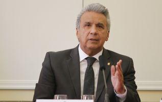 """""""El país no puede retroceder en esa reinstitucionalización que tanto trabajo ha demandado"""", dijo Moreno."""