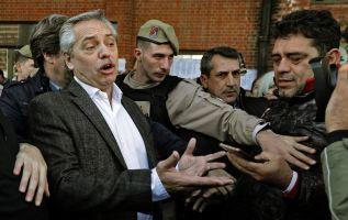 El candidato peronista Alberto Fernández. Foto: AFP