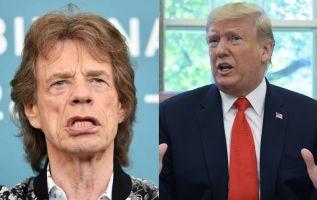 Jagger deploró también que la política se haya convertido en proclamar insultos. Fotos: AFP