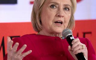 Clinton dijo que estaba claro que Rusia está sentando las bases para una interferencia similar en 2020. Foto: AFP