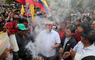 Conaie asegura que la guardia indígena es una realidad y existe en varios territorios u organizaciones. Foto: Reuters