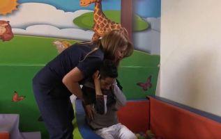 El pequeño David es la del único caso diagnosticado en Ecuador con el síndrome de Wolf-Hirschhorn (SWH).
