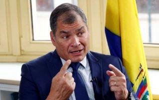 El líder de la trama -indicó el Procurador- era Correa, quien designaba como ministros o secretarios de Estado a personas de su absoluta confianza. Foto: Reuters
