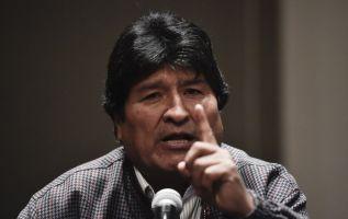 """El Gobierno denunció que Morales, asilado en México, """"está haciendo terrorismo"""". Foto: AFP"""