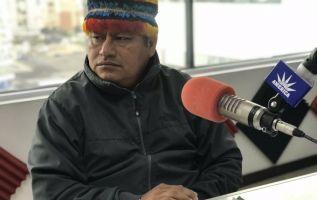 """""""Ahí está guardado el petróleo. Es mentira que el Ecuador perdió 46 millones de dólares"""", dijo Vargas."""