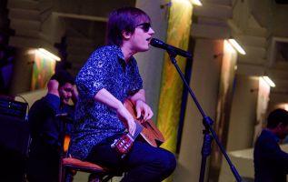 """Nahuel Pennisi se presentó en Guayaquil durante el Festival Internacional para músicos con discapacidad """"Grandes""""."""
