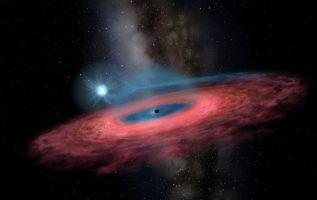 El LB-1 está a 15.000 años luz de la Tierra y tiene una masa 70 veces mayor que el Sol. Foto: AFP