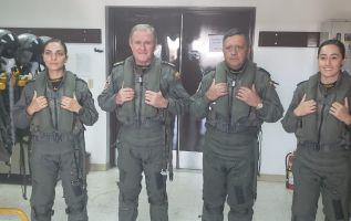 María Cueva y Jazmín Pérez  culminan hoy un amplio período formativo que se inició primero con la preparación como cadetes.