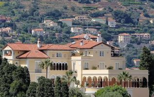 La famosa mansión Villa Les Cedres, ubicada en la península francesa de Saint-Jean-Cap-Ferrat de la Riviera francesa y considerada la más cara del mundo.