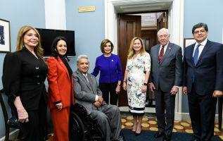"""Según la legisladora, nacida en Guayaquil, este es """"sin duda"""" el honor más grande que ha recibido durante su carrera."""