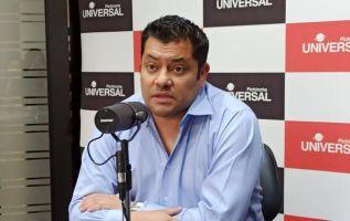 """Jarrín considera que uno de los jueces está en condición de """"temporalidad"""" en el cargo. Foto: radio Pichincha Universal"""