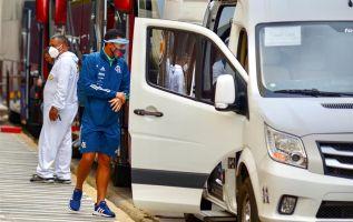 Todavía no se conocen los efectos de la visita del Flamengo a Quito y Guayaquil, en donde jugó contra Independiente del Valle (con un caso) y Barcelona. El club brasileño reportó varios casos de covid-19. Foto: EFE.